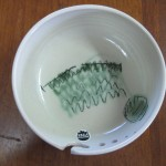 Strikkeskål keramik