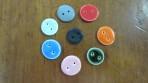 Runde keramik knapper