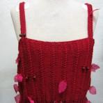 Top strikket i bomuld